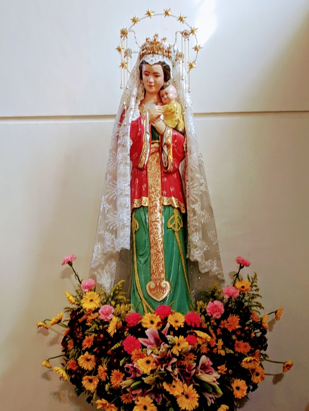 Our Lady of China, Santa Maria Church